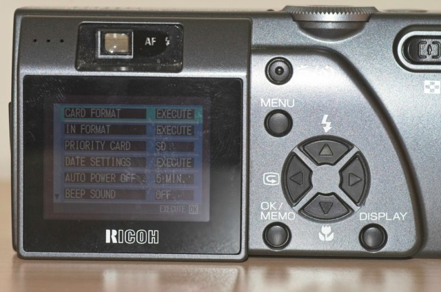 The intriguing Ricoh Caplio Pro G3 digital camera 2