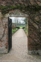 Beningborough Hall pictures - Gateway into the garden