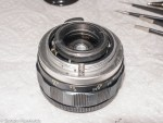 Auto Takumar 55mm f/2.2 strip down - helicoid refitted to lens