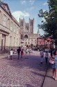 Lincoln shot on 35mm colour negative film - the square between the castle and the cathedral
