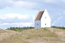 Sct. Laurentii Kirke, the biggest church in Northern Jutland until it was buried by the sands [Simon Hooper]