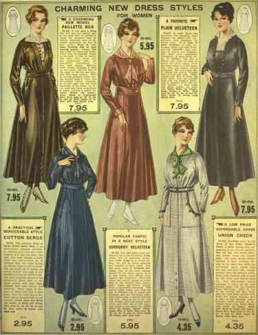 Eaton's fall winter catalogue 1916-1917 https://www.flickr.com/photos/beeskneesdaily/9578672054/in/dateposted/