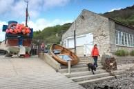 Lulworth Cove fishing boat