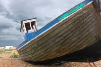 Dungeness boat abstract