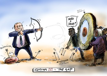gap closing cartoon indigenous kneebone australia eyes week simon pro simonkneebone