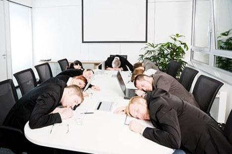 boring power point leadership training program