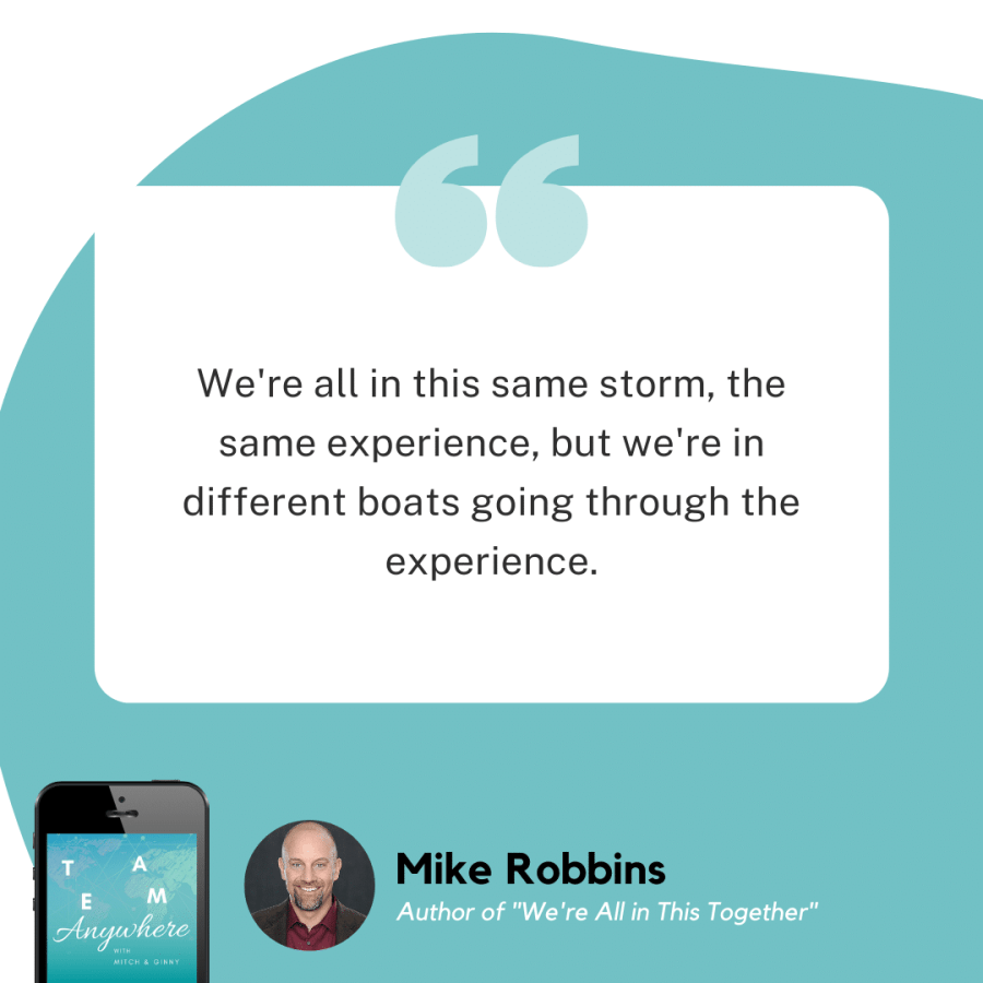 vulnerability to connect with Mike Robbins