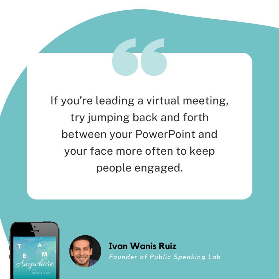 Lead Virtual Meetings