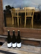 No need for a fridge, leave the wine outside to chill