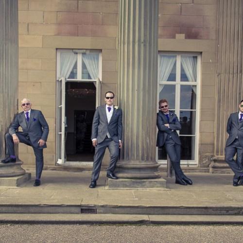 roundhay mansion groomsmen