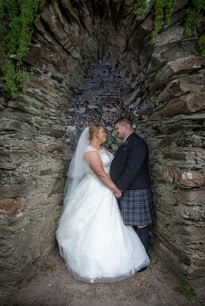 Greig and Pauline at Dunkeld House Hotel