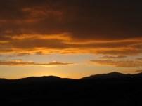 Sunset At 4.100 Metres