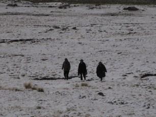 People Were Walking
