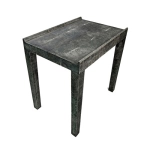 FRANK SIDE TABLE IN SHAGREEN 4