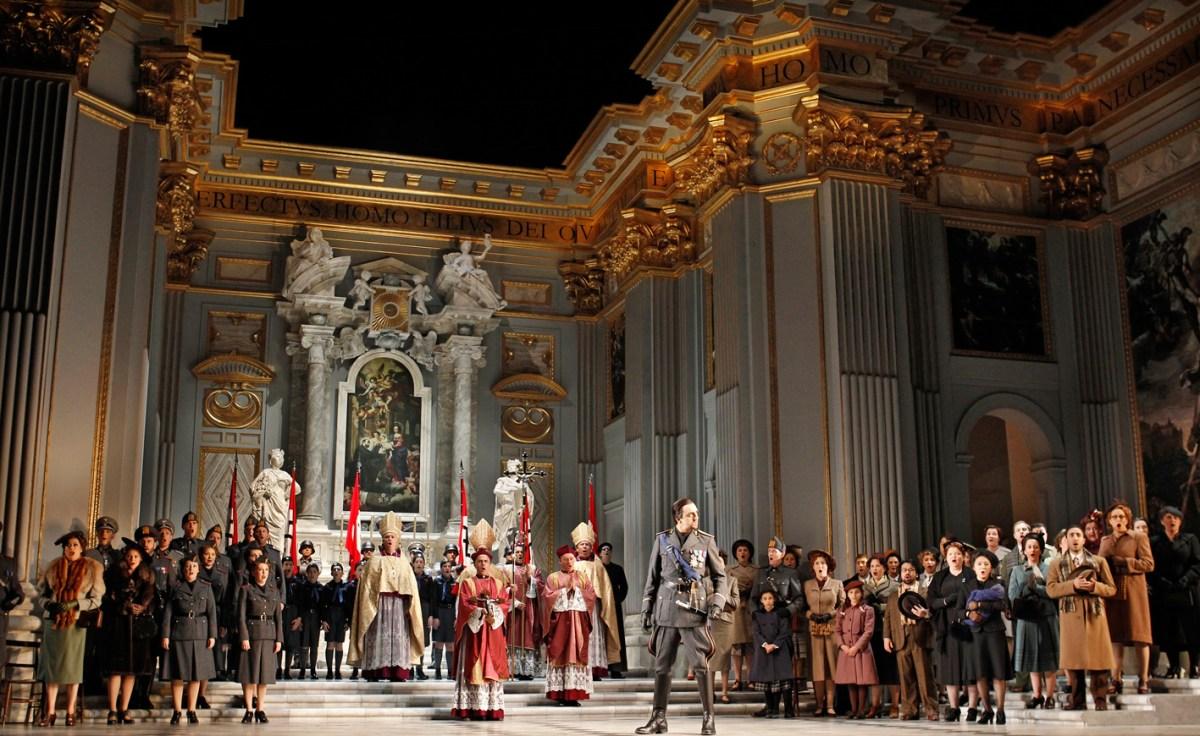 Opera Australia Tosca review Melbourne  Simon Parris