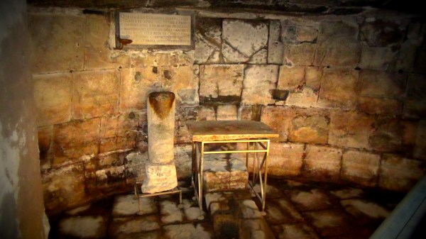 Visit Rome Mamertine Prison Simon Peter Sutherland