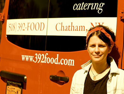 Caterer Colleen Trainor