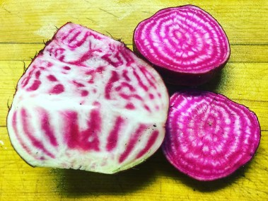 Locally grown fresh beets