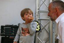Caspian eating