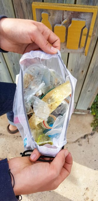 Our rubbish gathering bag 3