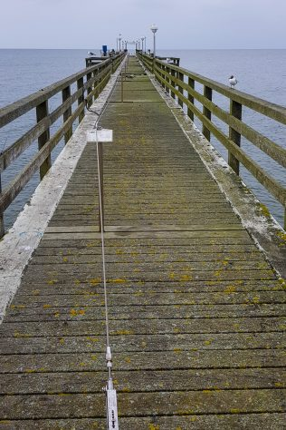 Furthest point of the long pier