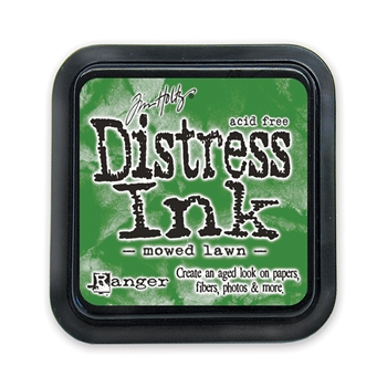 Tim Holtz Distress Ink Pad MOWED LAWN Ranger Summer TIM35008