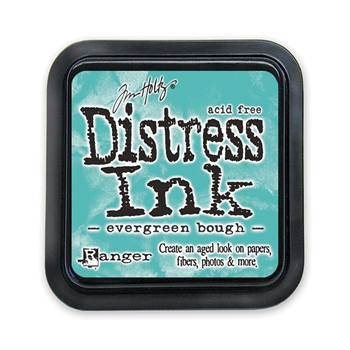 Tim Holtz Distress Ink Pad EVERGREEN BOUGH Ranger Winter TIM32854