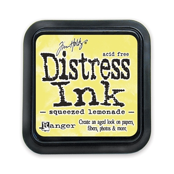 Tim Holtz Distress Ink Pad SQUEEZED LEMONADE Ranger TIM34940