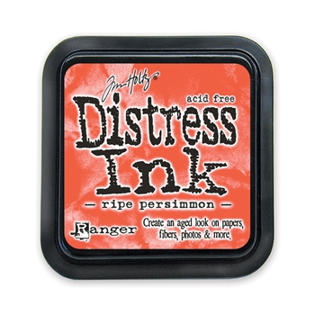 Tim Holtz Distress Ink Pad RIPE PERSIMMON Ranger Fall TIM32830