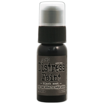 Tim Holtz Distress Paint BLACK SOOT Ranger TDD36302