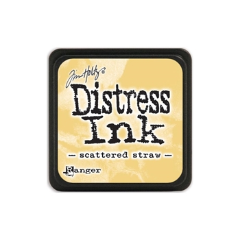 Tim Holtz Distress Mini Ink Pad SCATTERED STRAW Ranger TDP40149