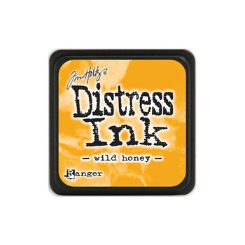 Tim Holtz Distress Mini Ink Pad WILD HONEY Ranger TDP40293