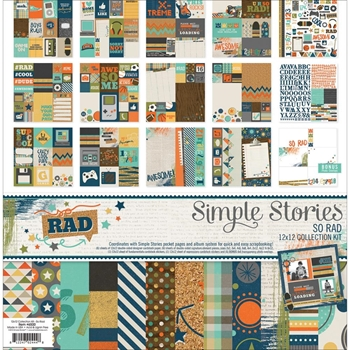 Simple Stories SO RAD 12 x 12 Collection Kit 6500