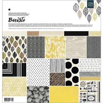 BasicGrey BARISTA 12 x 12 Paper Collection Pack CBTA4882