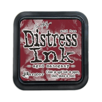 Tim Holtz Distress Ink Pad AGED MAHOGANY Ranger TIM21407