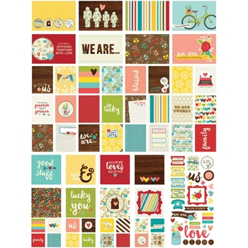 Simple Stories WE ARE FAMILY Snap Cards 4723