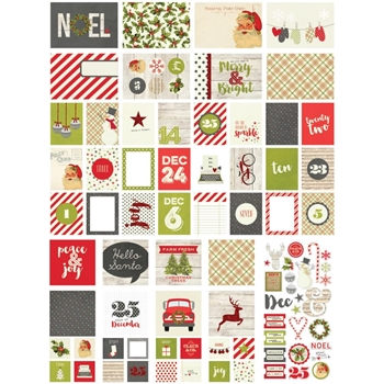 Simple Stories CLAUS AND CO Snap Cards 4823