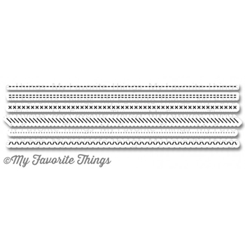 My Favorite Things BASIC STITCH LINES Die-Namics MFT777