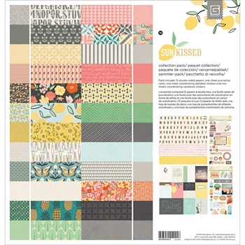 BasicGrey SUN KISSED 12 x 12 Paper Collection Pack CSUN4975*