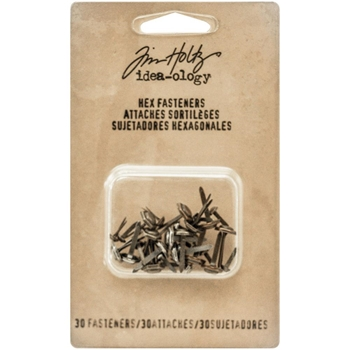 RESERVE Tim Holtz Idea-ology HEX FASTENERS Findings TH93268