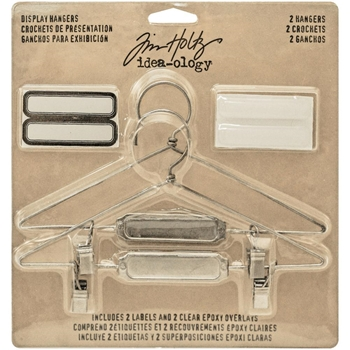 RESERVE Tim Holtz Idea-ology DISPLAY HANGERS Findings TH93271