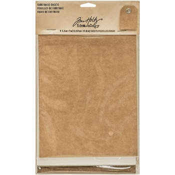 RESERVE Tim Holtz Idea-ology SUBSTRATE SHEETS Paperie TH93291