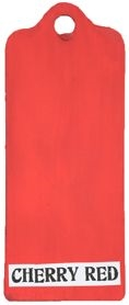 Paper Artsy Fresco Finish CHERRY RED Chalk Acrylic Paint 1.69oz FF86