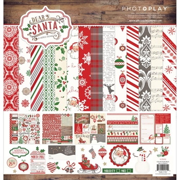 PhotoPlay DEAR SANTA 12 x 12 Collection Pack DS2014