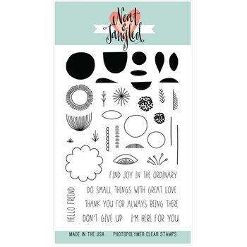 Neat and Tangled SCANDINAVIAN PRINTS Clear Stamp Set