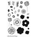 My Favorite Things PRETTY POSIES Clear Stamps CS116