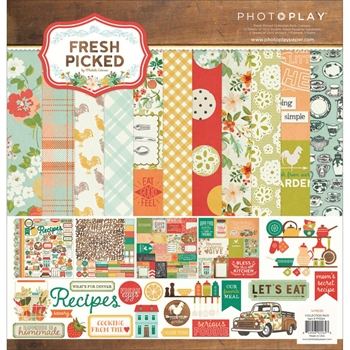 PhotoPlay FRESH PICKED 12 x 12 Collection Pack FP2264