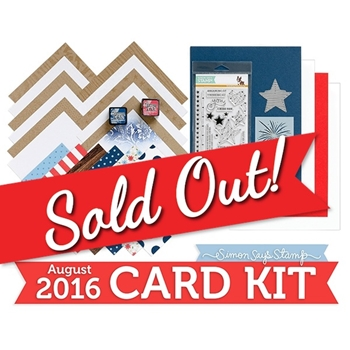 Simon Says Stamp Card Kit of The Month August 2016 Seeing Stars CK816