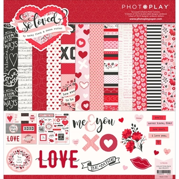 PhotoPlay SO LOVED 12 x 12 Collection Pack SL2419