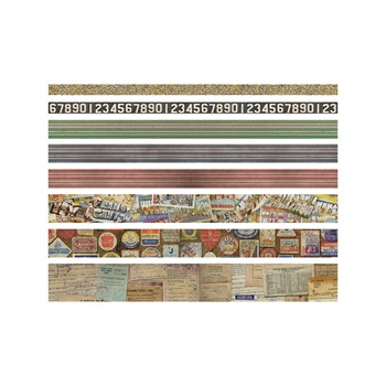 RESERVE Tim Holtz Idea-ology TRAVEL Design Tape Paperie TH93352